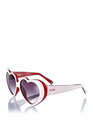 Moschino Sonnenbrille MO-58503-S weiß/rot