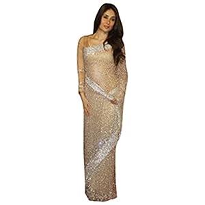 KS1485 Kareena kapoor cream sarees