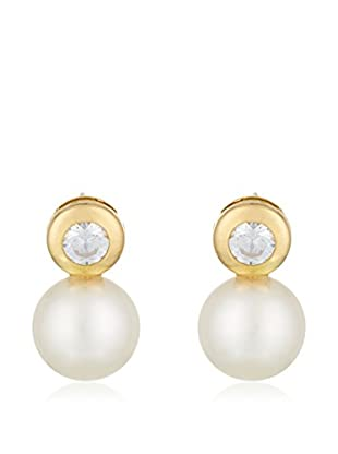 GOLD & DIAMONDS Pendientes Tu Y Yo oro amarillo 18 ct