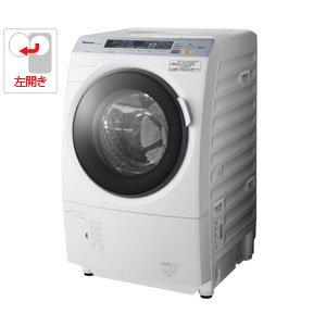 パナソニック 9.0kg ドラム式洗濯乾燥機【左開き】クリスタルホワイトPanasonic NA-VX3101L-W