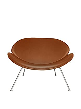Manhattan Living Slice Chair, Light Brown