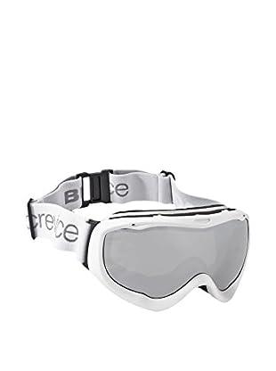 Black Crevice Skibrille weiß/silberfarben