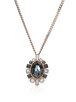 Swarovski Halskette  schwarz/silberfarben/rosé