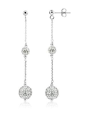 WISHLIST Ohrringe  rhodiniertes Silber 925