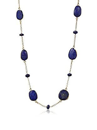 Saachi Blue Lapis Gemstone Necklace