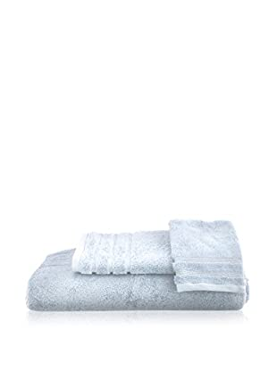 bambeco 3-Piece Organic Cotton 700 Gram Towel Set, Ice
