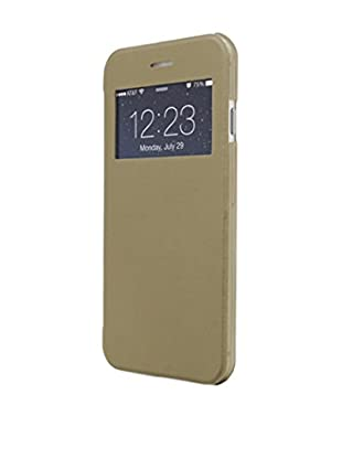 UNOTEC Hülle Flip-S iPhone 6 / 6S goldfarben