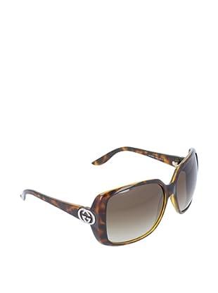 Gucci Damen Sonnenbrille GG 3166/S karamell (Braun)