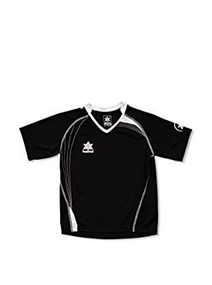 Luanvi Camiseta Manga Corta Master (Negro / Blanco)