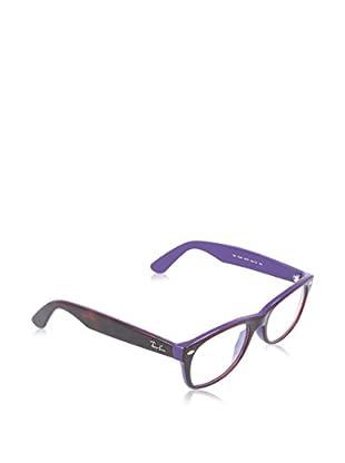 Ray-Ban Gestell NEW WAYFARER (52 mm) braun/violett