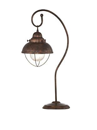 Bassett Mirror Co. Alleghany 1-Light Table Lamp, Copper