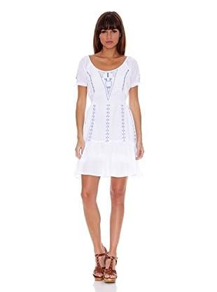 Janis Vestido Perla (Blanco)