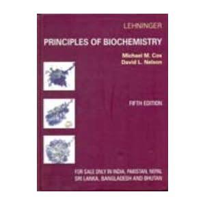 Lehninger Principles Of Biochemistry - 5/Ed. Reprint - 2010