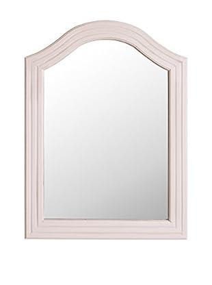 Romantic Style Espejo de Pared Minerva Crema