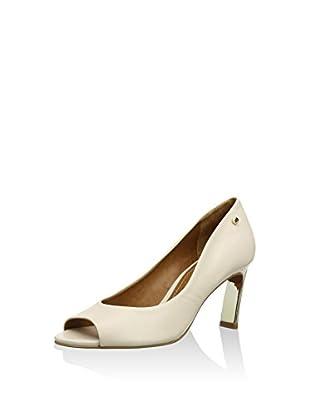 Moda in Pelle Zapatos peep toe