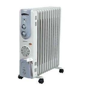 Havells OFR 9 Fin 2500-Watt PTC Fan Heater (White)