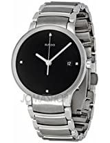 Rado Centrix Jubile Black Diamond Dial Stainless Steel Mens Watch R30927713