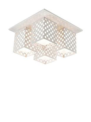 Light&Design Lámpara De Techo Akropal Blanco