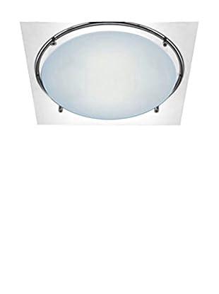 LEUCOS Lámpara de Pared/Techo Mey 15 cromo/Cristal