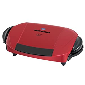Geogre Foreman GRP0004R Grill-Red