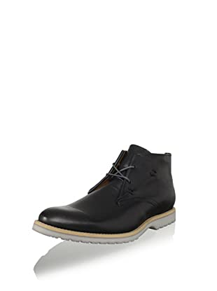 JD Fisk Men's Vallo Boot (Black Leather)