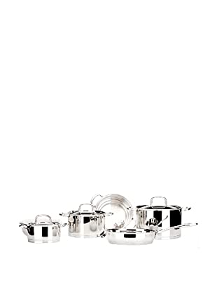 BergHOFF Moon 12-Piece Cookware Set, Silver