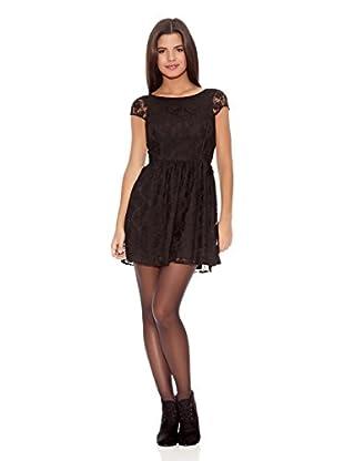 Springfield Vestido Twaist Lace Dress