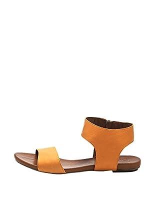 Bueno Shoes Sandalias Planas Cremalleras