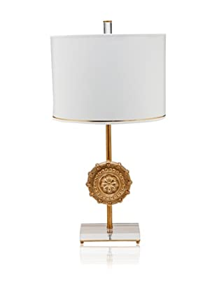 A&F Lighting Horizon Series Athena Table Lamp, Gold