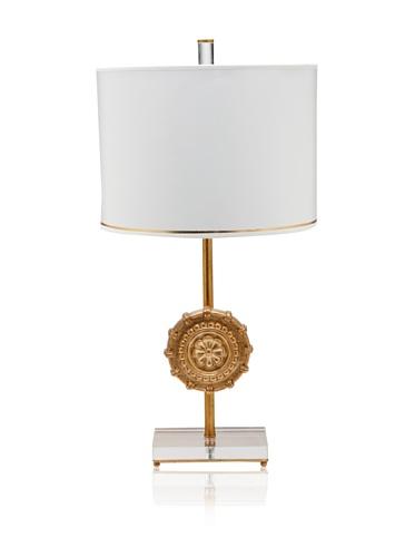 A&F Lighting Horizon Series Athena Table Lamp, Gold