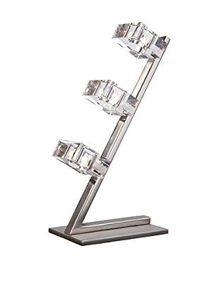 Massive Tischlampe Nickel 3X20W 12V