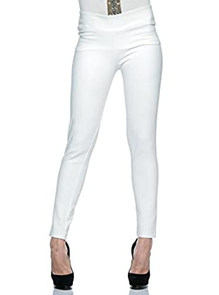 Annarita N Pantalón Skinny Aderente (Blanco)