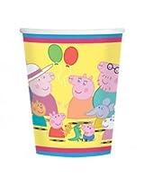 Peppa Pig 9oz. Paper Cups - Case Pack 48 Cups