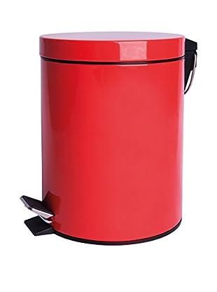 Mülleimer 5 L rot