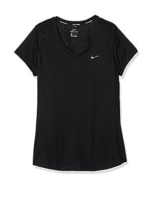 Nike T-Shirt Manica Corta MILER V-NECK