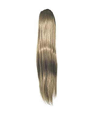 Love Hair Extensions Kunsthaar-Pferdeschwanz Alice mit Krokodilklemme, 45cm, 10 Medium Ash Brown