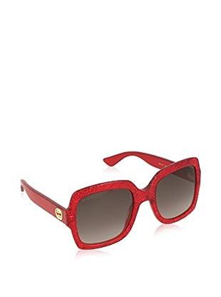 Gucci Gafas de Sol 0036S_005 (54 mm) Rojo
