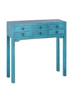 Oriental Consola Azul