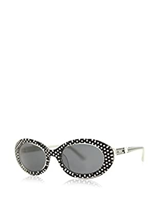 Moschino Gafas de Sol 67601 (49 mm) Negro / Blanco