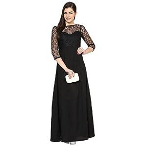 Eavan Black Long Dress