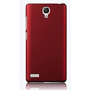 ImagineDesign WOW ImagineDesign(TM) Matte Rubberised Hard Case Back Cover For XIAOMI MI REDMI NOTE / NOTE 4G / NOTE PRIME (Maroon Wine Red)