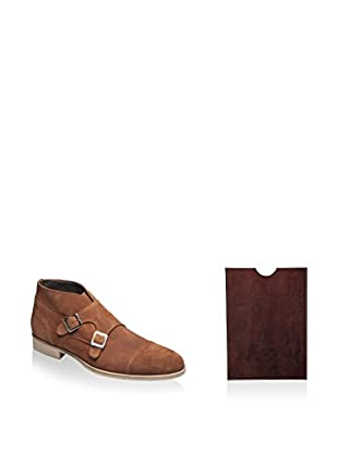 Ortiz & Reed Zapatos monkstrap + Funda iPad SET-ZDS11-AC3