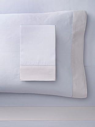 Nancy Koltes Versailles Sheet Set (Pewter/Angora)