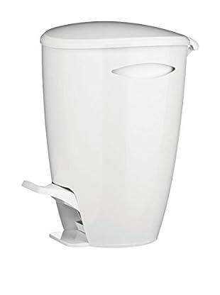 Premier Housewares Tretmülleimer 1601453 weiß