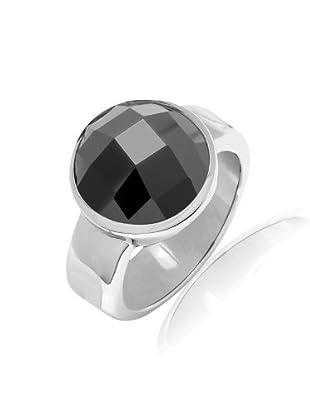 Nahla Jewels Ring Sterling Silber Zirkonia (schwarz)