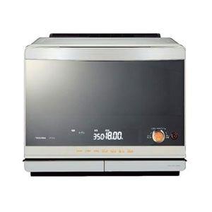東芝 石窯ドーム 加熱水蒸気オーブンレンジ ER-KD520(W)シェルホワイト