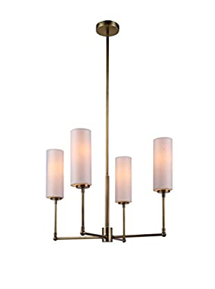 Urban Lights Richmond 4-Light Pendant Lamp, Antique Bronze