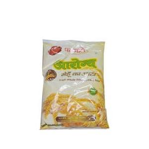 Baba Ramdev Patanjali Aarogya Whole Wheat Chakki Atta 5 Kg