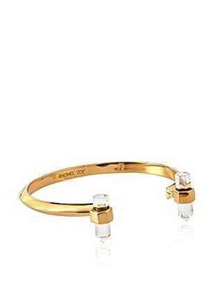 Rachel Zoe Gold & Crystal Cuff Bracelet