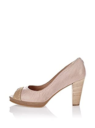 Manas Zapatos peep toe